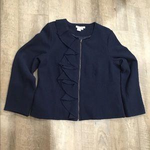 WinterSilks 💯% wool out 💯% silk inside sweater